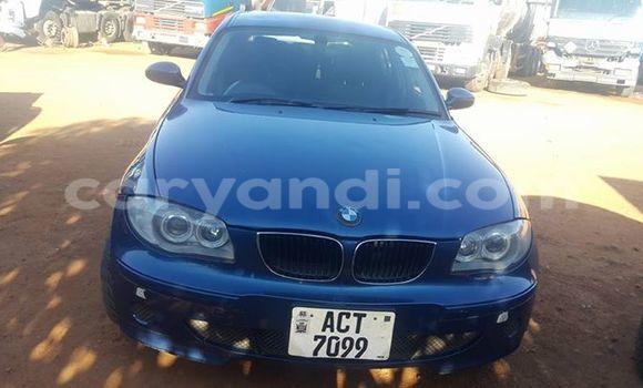 Buy BMW 1-Series Blue Car in Ndola in Zambia