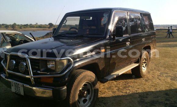 Buy Toyota Land Cruiser Prado Black Car in Kitwe in Zambia
