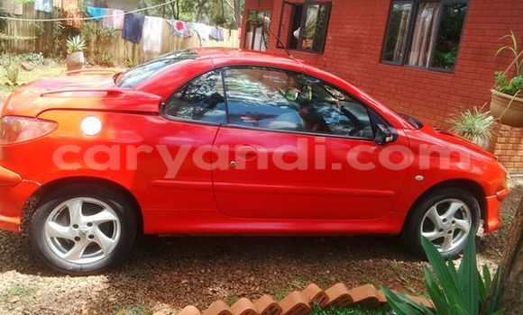 Buy Peugeot 206 Red Car in Chipata in Zambia
