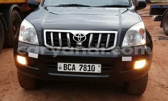 Buy Toyota Land Cruiser Prado Black Car in Ndola in Zambia