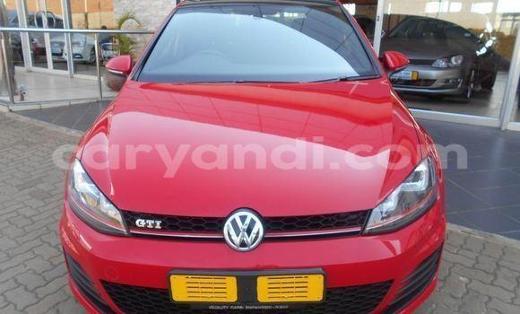 Buy Volkswagen Golf Red Car in Kitwe in Zambia