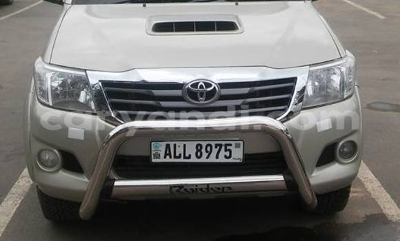 Buy Toyota Hilux Silver Car in Chipata in Zambia
