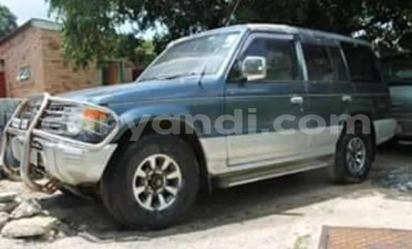 Buy Mitsubishi Pajero Blue Car in Chipata in Zambia