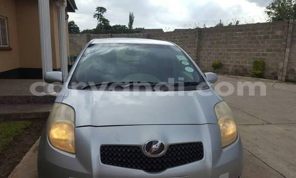 Buy Toyota Vitz Silver Car in Chipata in Zambia