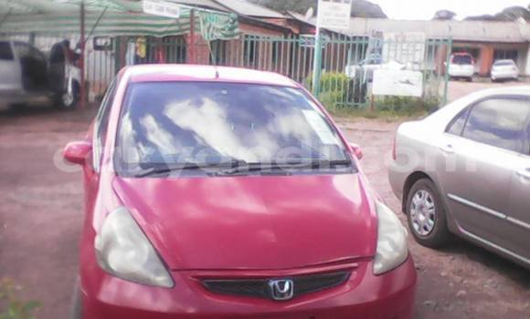 Buy Honda Fit Red Car in Chipata in Zambia