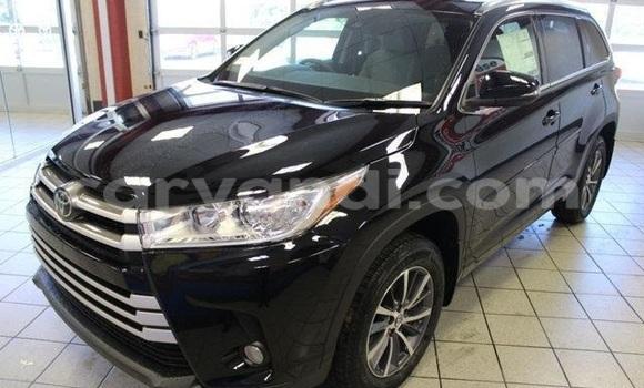 Buy Toyota Highlander Black Car in Chingola in Zambia