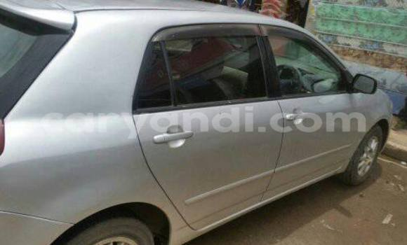 Buy Toyota Runx Silver Car in Chipata in Zambia