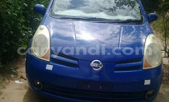 Buy Nissan Note Blue Car in Chipata in Zambia
