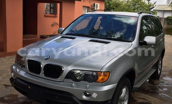 Buy BMW X5 Silver Car in Lusaka in Zambia