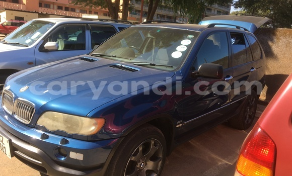 Buy BMW X5 Blue Car in Ndola in Zambia