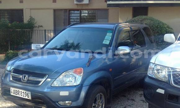 Buy Honda CR-V Blue Car in Lusaka in Zambia