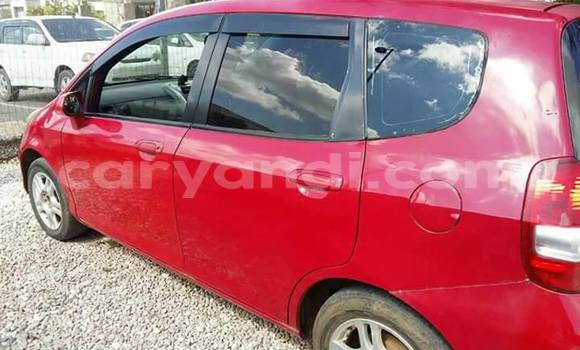 Buy Honda Fit Red Car in Lusaka in Zambia