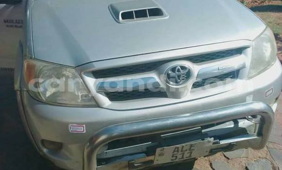 Buy Toyota Hilux Silver Car in Lusaka in Zambia