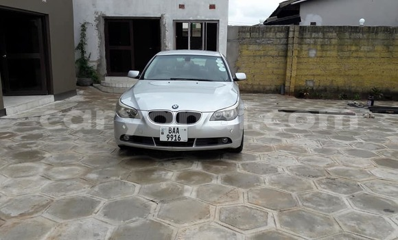 Buy BMW 5-Series Silver Car in Lusaka in Zambia