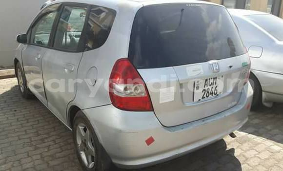 Buy Honda Fit Silver Car in Lusaka in Zambia
