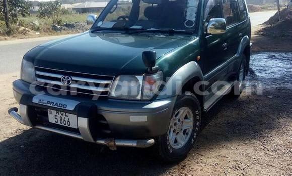 Buy Toyota Prado Green Car in Lusaka in Zambia