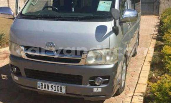 Buy Toyota Hiace Silver Car in Lusaka in Zambia