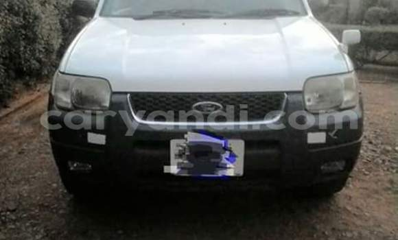 Buy Ford Escape White Car in Lusaka in Zambia
